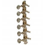 12-String Guitar Machine Heads - Steel Posts