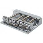 Bass Guitar Bridge Chrome