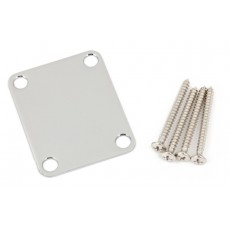 Fender Neck Plate Plain Chrome