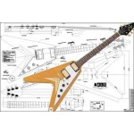 Gibson Flying V Style Guitar Plans